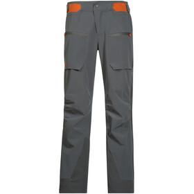 Bergans Gautefall Pants Women solid dark grey/koi orange